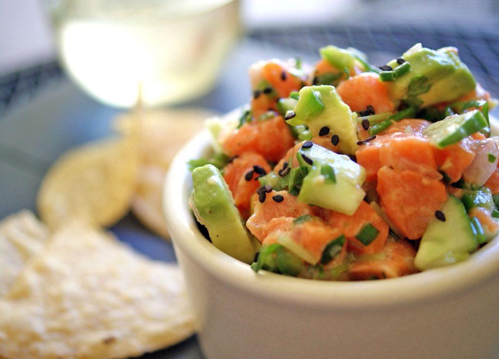 salmon-avocado-poke-bowl-1024x737 5 Fat Burning Restaurants in Fort Lee, New Jersey