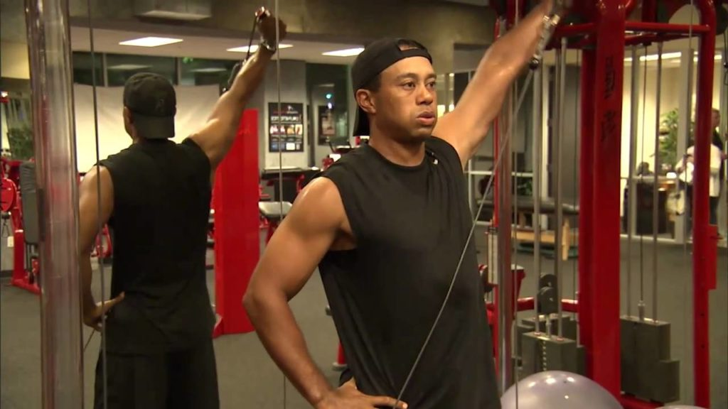 Tiger-jacked-1024x576 Play Better Golf: 10 Top Golf Fitness Training Tips